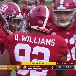 2017 Tennessee vs. #1 Alabama (HD)